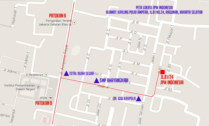 peta lokasi jpw